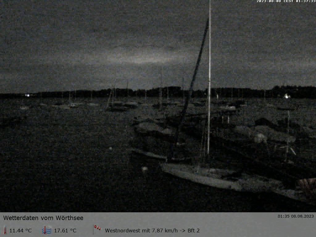 zur Webcam der Segelschule Wörthsee